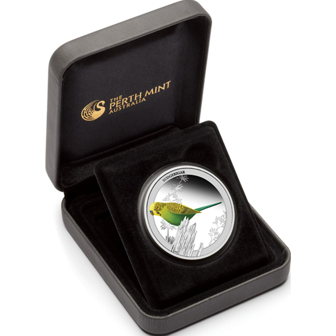 2013 1/2 oz Silver Proof - BUDGERIGAR