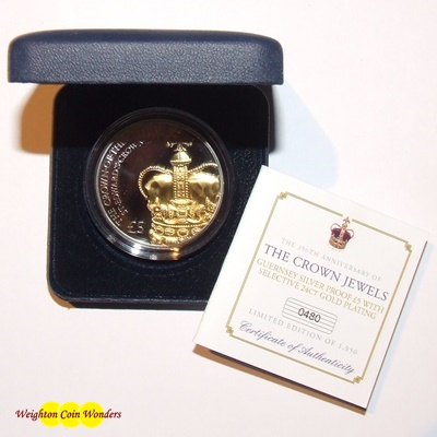 2011 Silver Proof £5 – The Crown Jewels