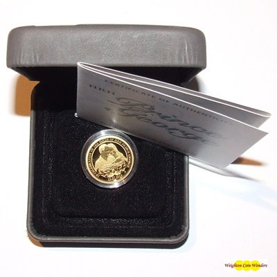 2013 1/4oz Gold Proof Coin - HRH Prince George