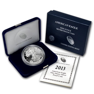 2013 USA 1oz Silver Proof EAGLE