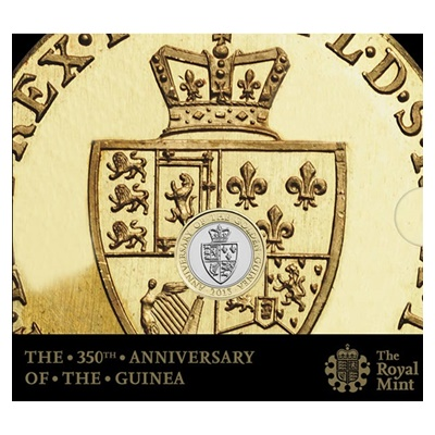 2013 £2 BU Coin Pack - 350th Anniversary of the Guinea