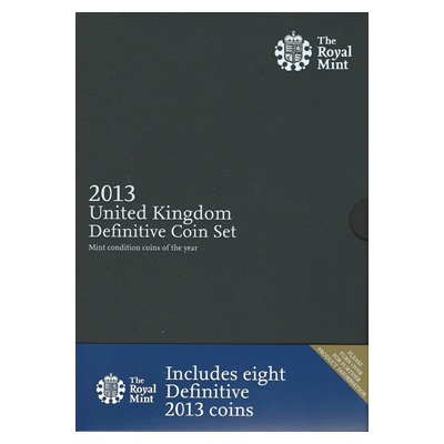 2013 Brilliant Uncirculated Coin Set (Definitive)