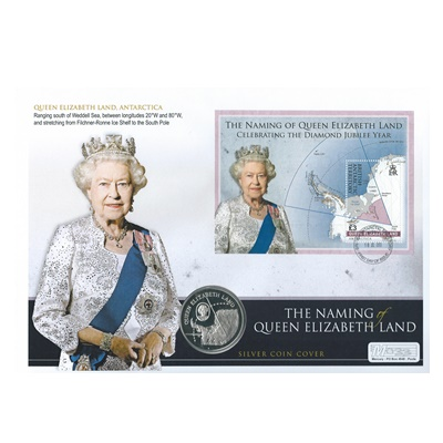 2013 Silver Proof £2 - The Naming of Queen Elizabeth Land