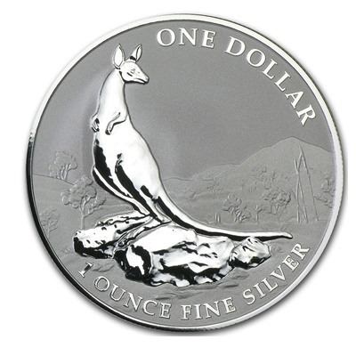 2013 Silver 1oz KANGAROO - Explorers' First Sightings