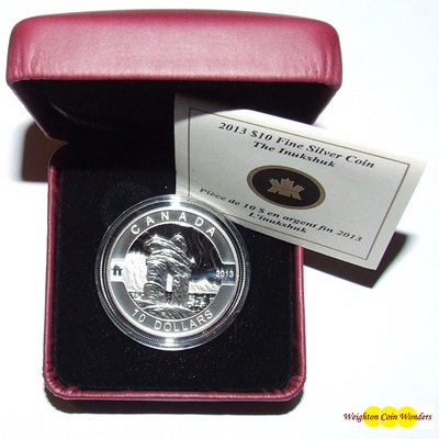 2013 O'Canada 1/2oz Silver Proof - INUSHUK
