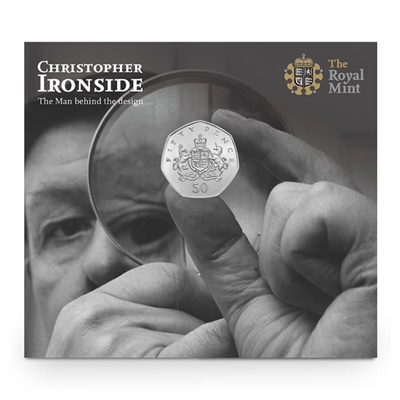 2013 50p BU Coin - 100th Anniversary Christopher Ironside