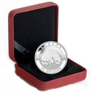 2014 O'Canada 1/2oz Silver Proof - IGLOO