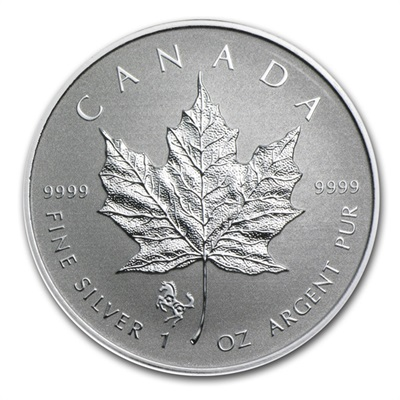 2014 1oz Silver Maple - HORSE Privy