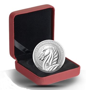 2014 $10 Fine Silver Coin - Year of the Horse