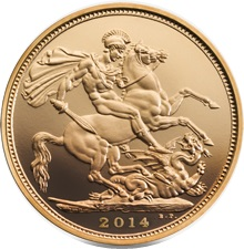 2014 Gold SOVEREIGN - Now In Stock