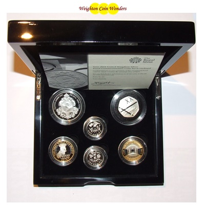 2014 Silver Proof Commemorative Coin Set
