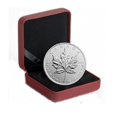 2014 Premium 1oz Silver Maple - Reverse Proof Finish