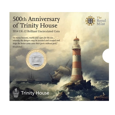 2014 £2 BU Coin Pack - 500th Anniversary of Trinity House