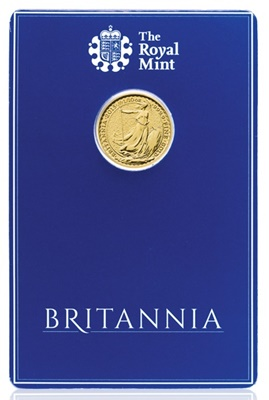 2015 1/10th oz Gold BRITANNIA