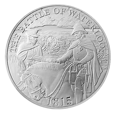 2015 £5 - The Battle of Waterloo