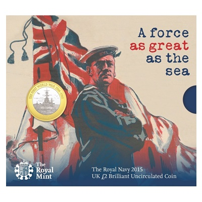 2015 £2 BU Coin Pack - The Royal Navy