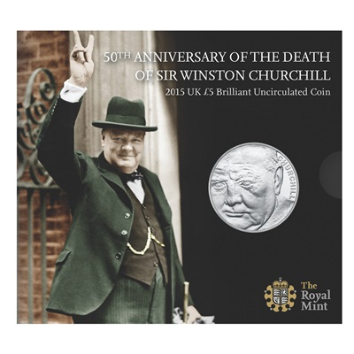 2015 BU £5 Crown Pack - Sir Winston Churchill