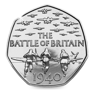 2015 50p - The Battle of Britain