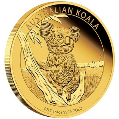 2015 Gold Proof 1/4oz KOALA