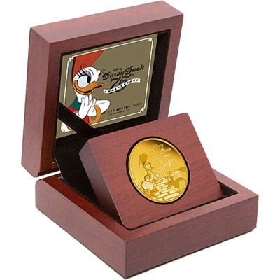 2015 1/4 Oz Gold Proof - Disney Daisy Duck 75th Anniversary