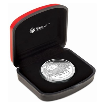 2015 1/2oz Silver Proof Coin - YEAR OF THE GOAT
