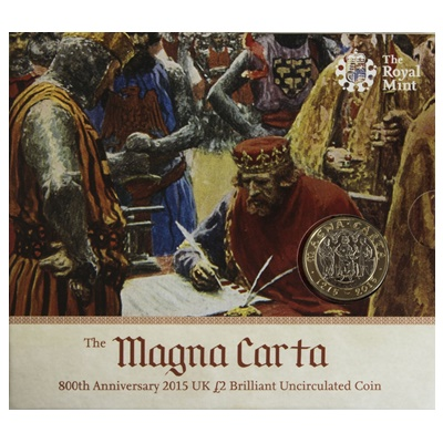 2015 £2 BU Coin Pack - 800th Anniversary of the Magna Carta