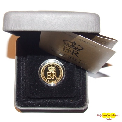 2015 Gold Proof 1/4oz $25 Coin - QEII LRM