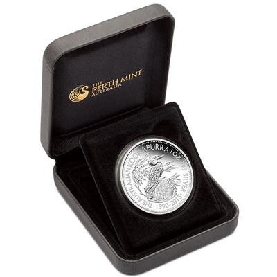 2015 1oz Silver Proof Kookaburra - World Money Fair