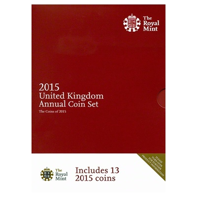2015 UK Annual Coin Set