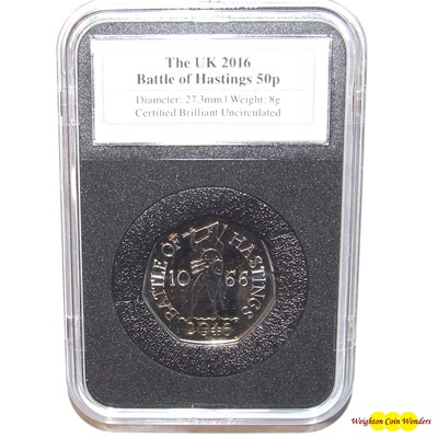 2016 The Battle of Hastings 50p