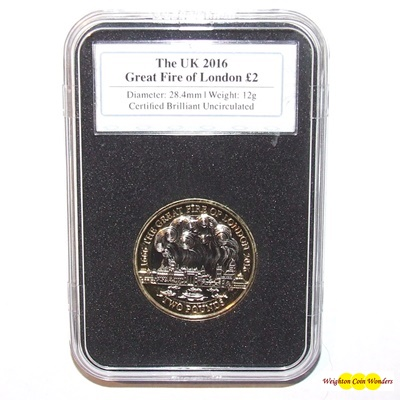 2016 The Great Fire of London £2