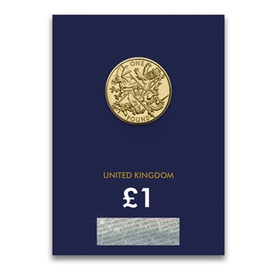 2016 BU £1 Coin (Card) - Last Round Pound