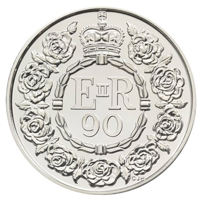 2016 £5 - QEII 90th Birthday