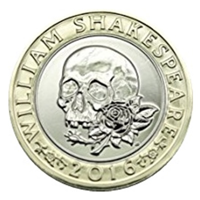2016 £2 Coin - Shakespeare Tragedies