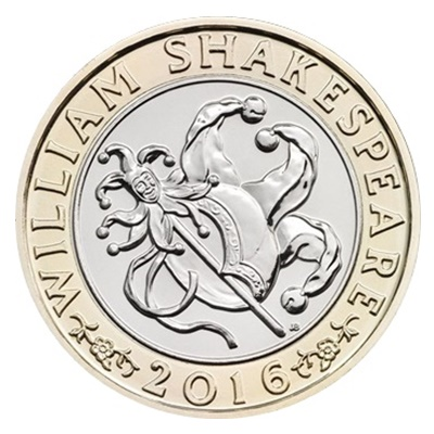 2016 £2 Coin - Shakespeare Comedies