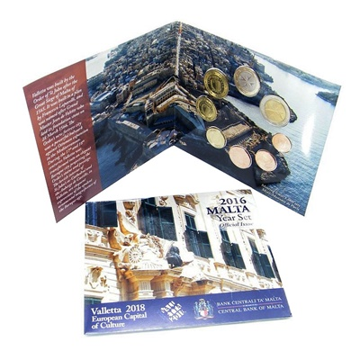 2016 MALTA Blister Coin Pack