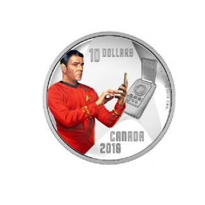 "2016 $10 Silver Proof Coin - Chief Engineer ""Scotty"""