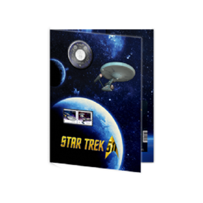 2016 Coin and Stamp Set – Star Trek™: U.S.S. Enterprise