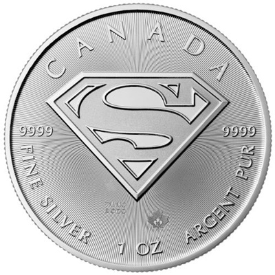 2016 Canada 1oz Silver $5 SUPERMAN™