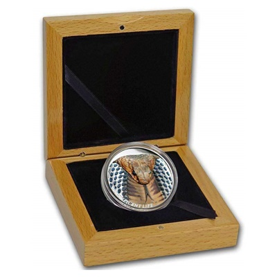 2017 1oz Silver Proof $5 - Magnificient Life - COBRA