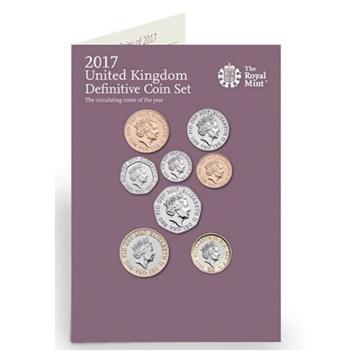 2017 UK Definitive Coin Set