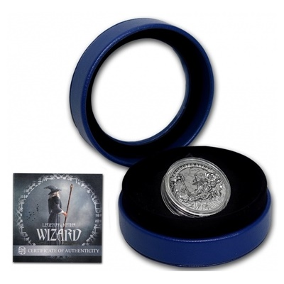 2017 2oz Reverse Silver Proof - Legends & Myths - WIZARD