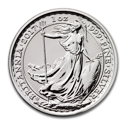 2017 1oz Silver BRITANNIA - 20TH ANNIVERSARY PRIVY