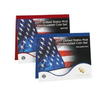 2017 United States Mint Uncirculated Coin Set (P & D)