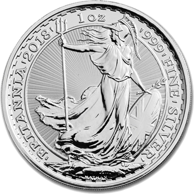 1oz Silver BRITANNIA - Date Our Choice