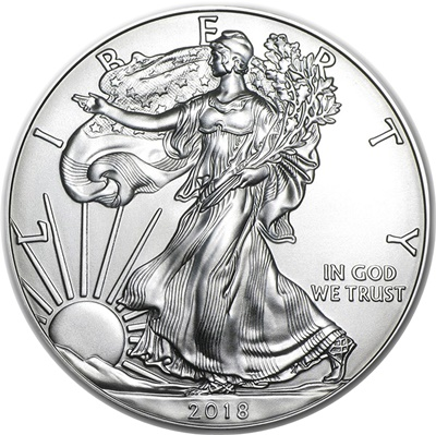 2018 USA 1oz Silver Eagle
