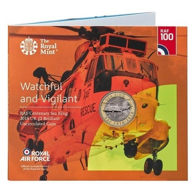 2018 £2 BU Coin Pack - RAF Centenary Sea King