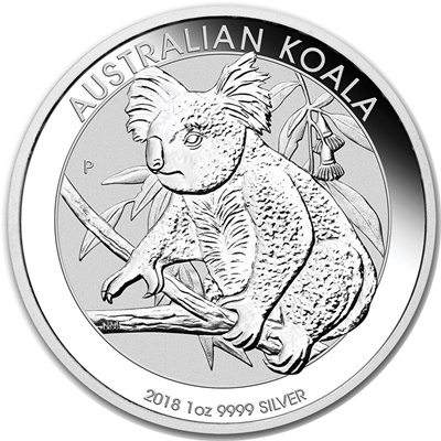 2018 1oz Silver KOALA - Click Image to Close