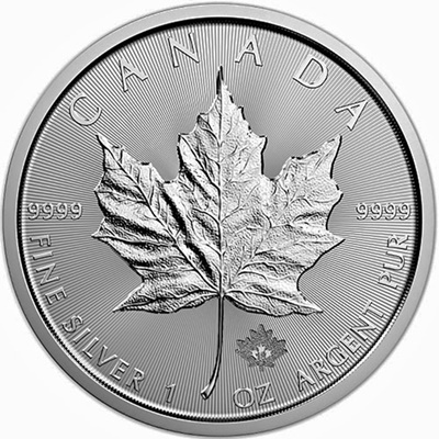 10 x 2018 1oz Silver Maple