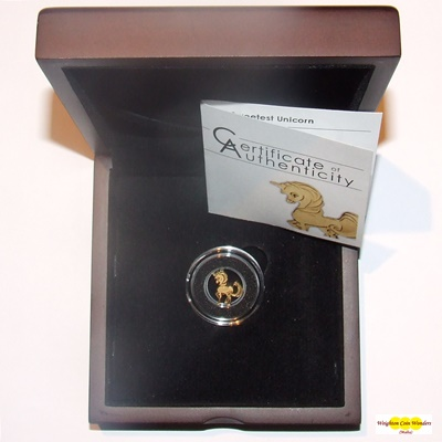2018 Palau Gold 0.5g Coin - The Sweetest Unicorn